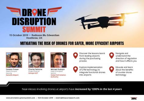 Drone Disruption Summit Agenda