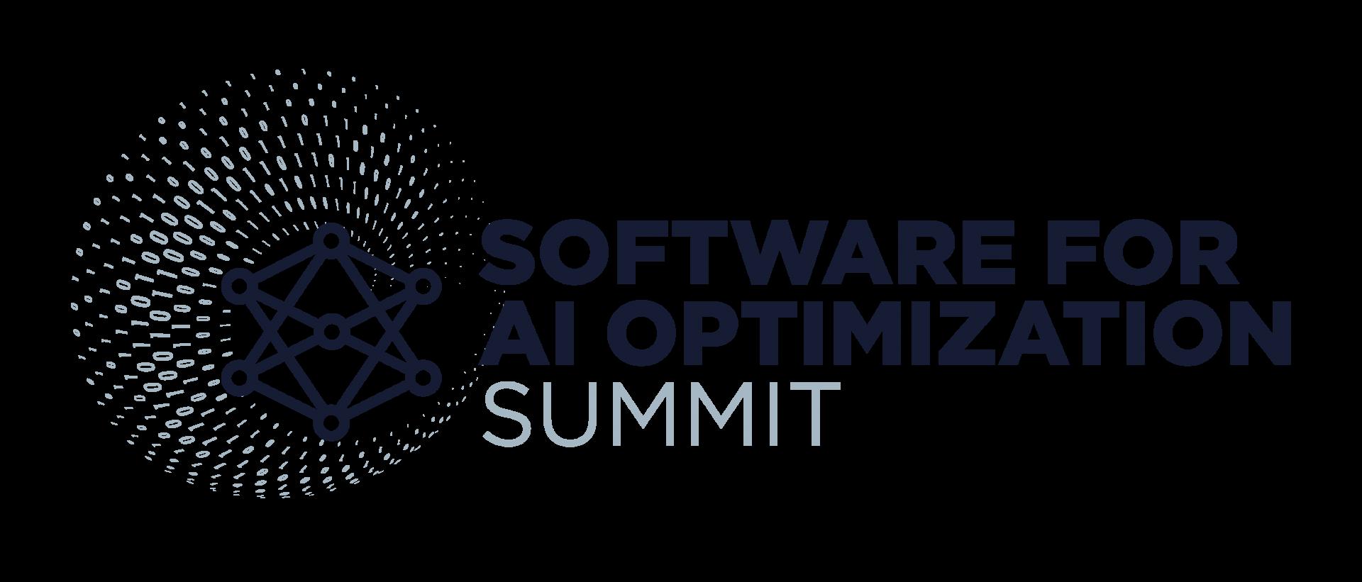 Software for AI Optimization Summit