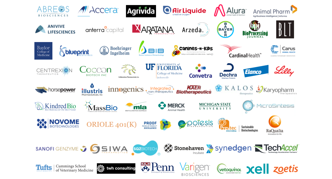 Sample attendees from Human Biotech & Animal Health Boston 2018