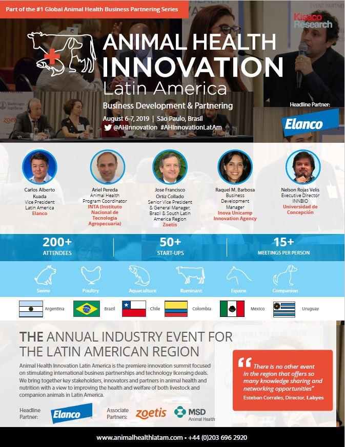 Animal Health Innovation Latam agenda 2019