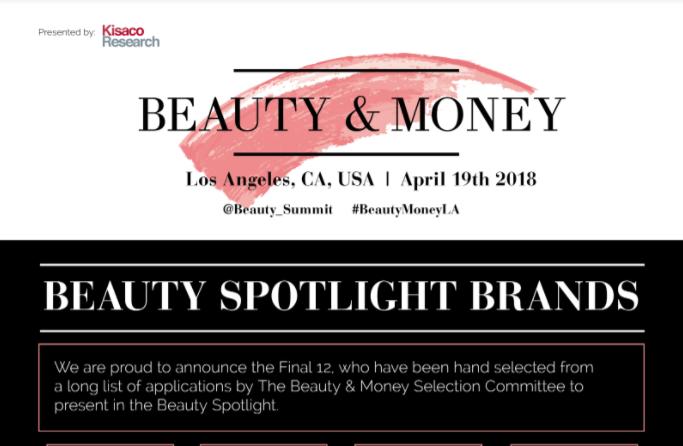 Beauty and Money LA | Kisaco Research